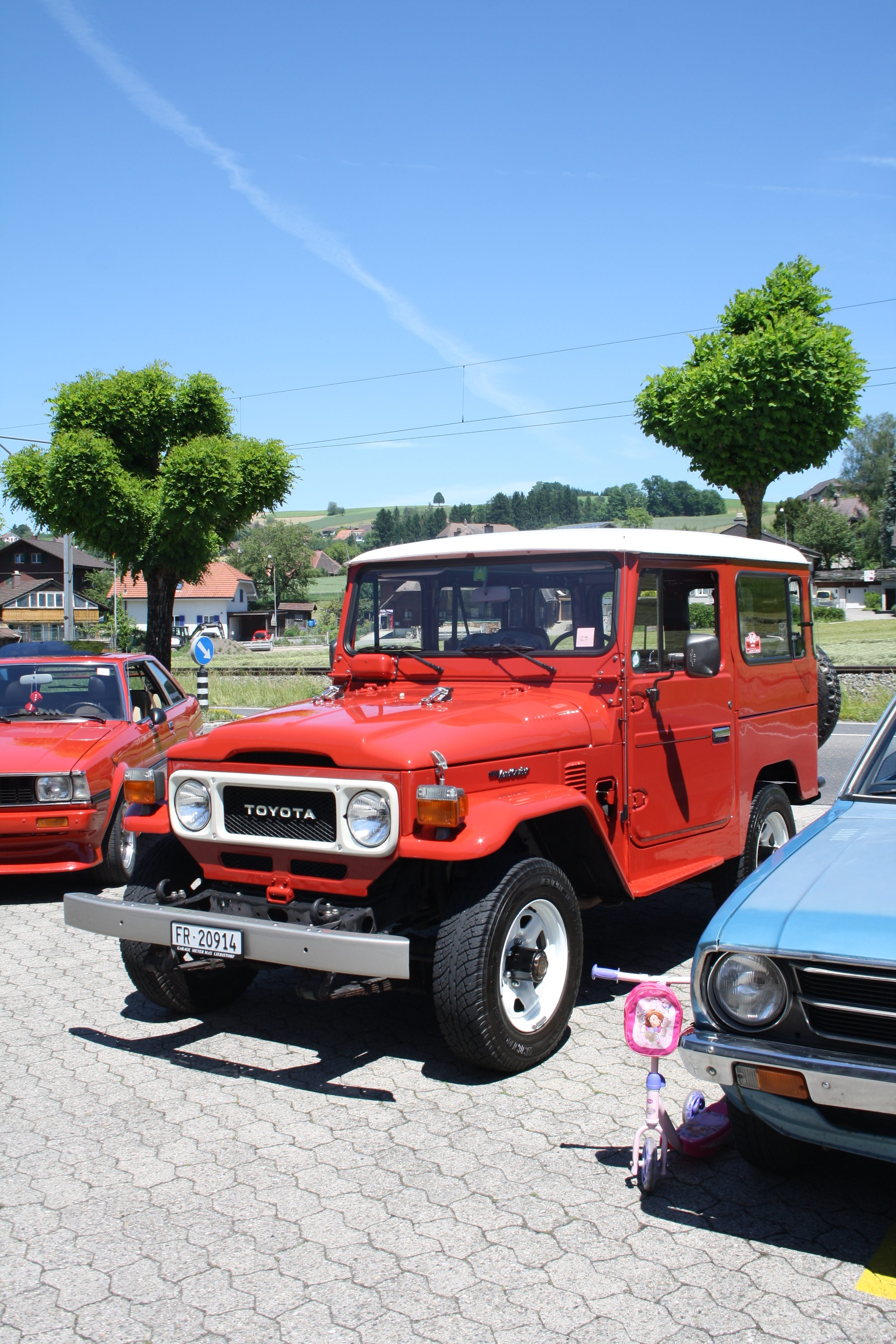 7. Toyota Old- & Youngtimertreffen Auswil