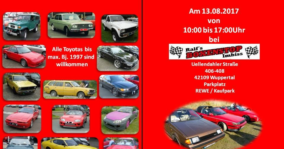 2. Old Toyota Meeting Wuppertal