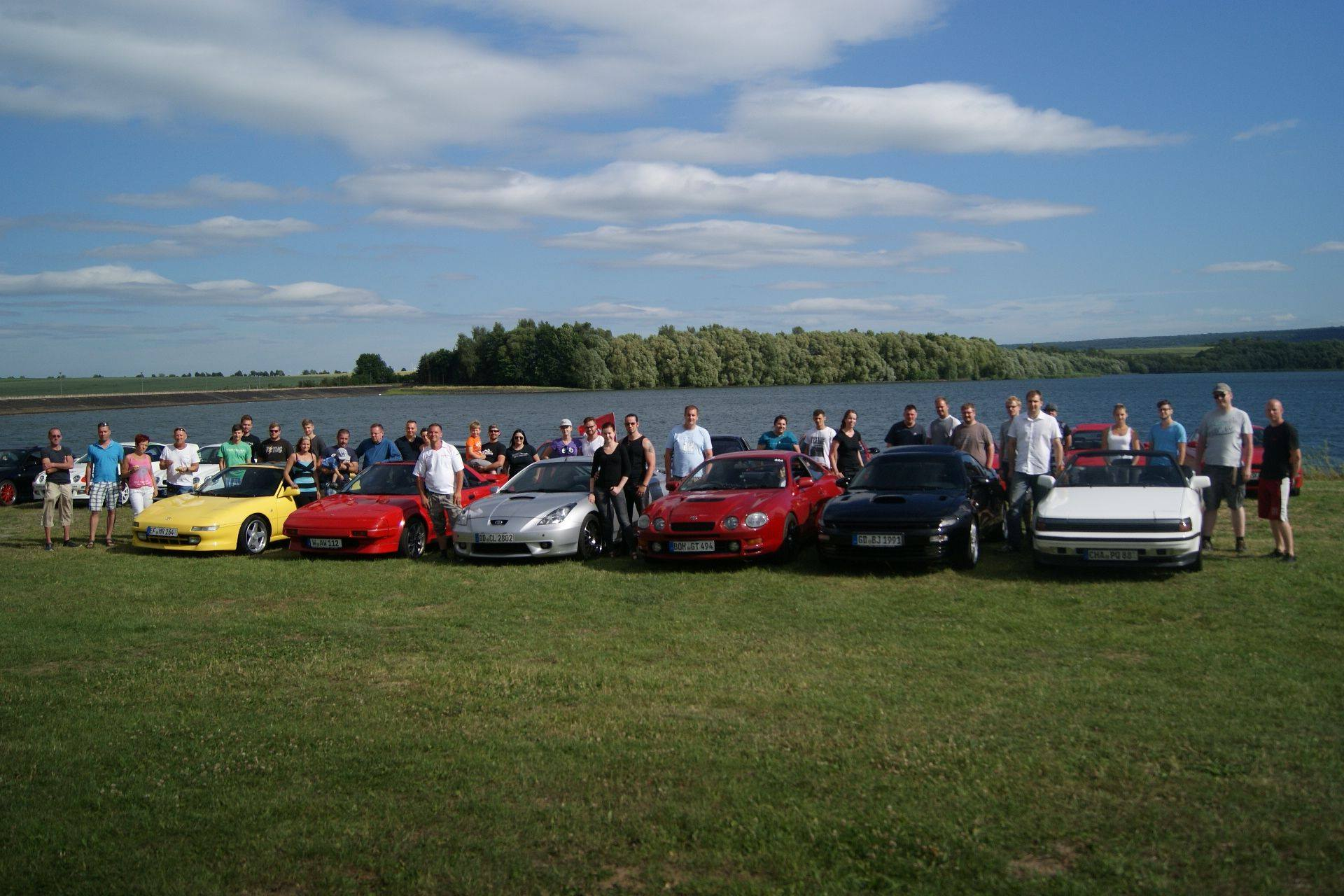 5. Celica Owners, MR2, Supra Treffen