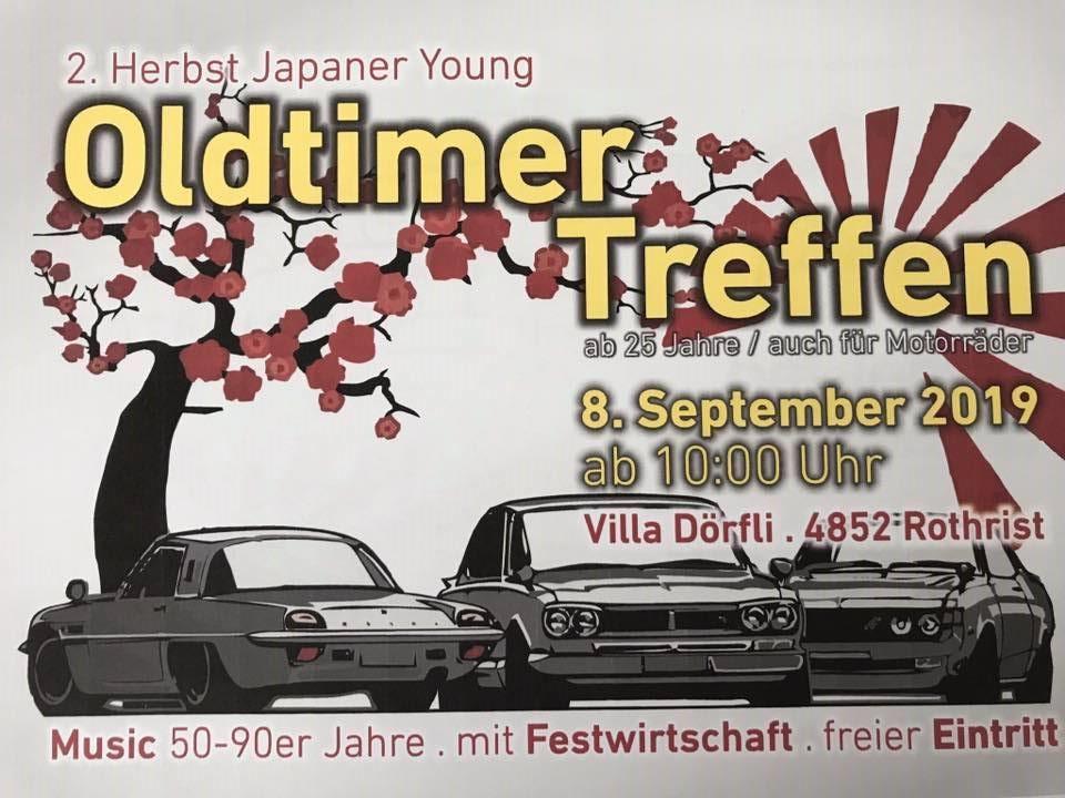 2. Herbst Japaner Young und Oldtimer Treffen